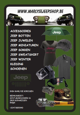 Advertentie Jeepshop